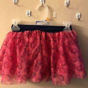 Hello Kitty Tutu Skirt Girls Size 6